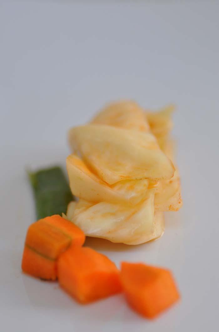 white cabbage kimchi