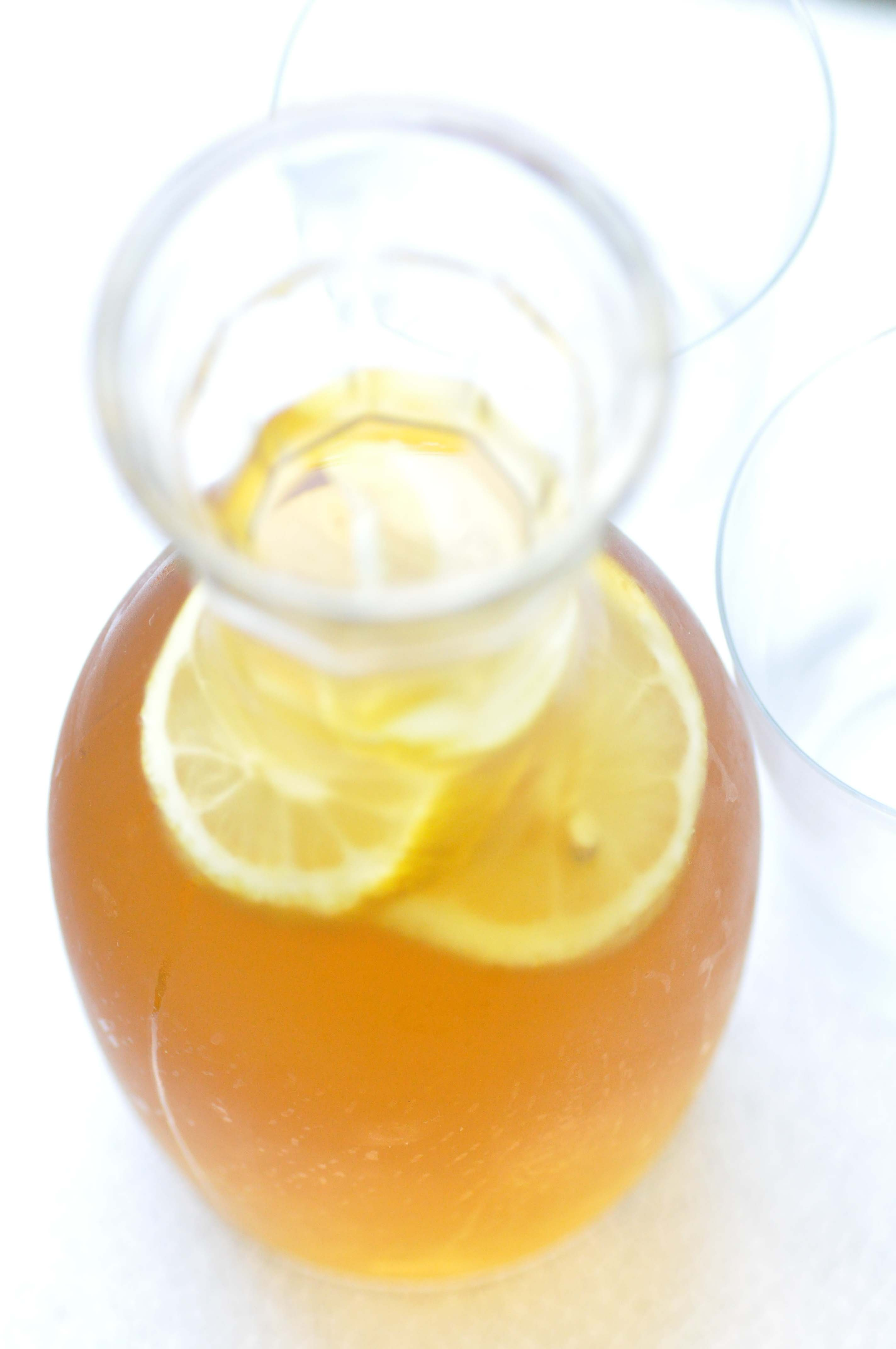 how to make ice tea syrup